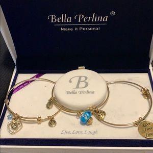 Bella Perlina 3 bracelet charm set